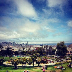 Photo taken at Mission Dolores Park by Susie D. on 6/9/2013