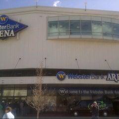 Photo taken at Webster Bank Arena by David B. on 3/30/2013