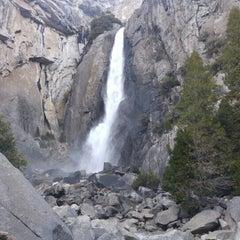 Photo taken at Lower Yosemite Falls by Gary Paul C. on 2/9/2016