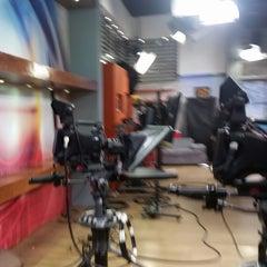 Photo taken at Ocho TV by Alejandro L. on 12/12/2014