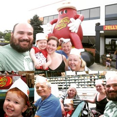 Photo taken at Jelly Belly Visitor Center by Jay B. on 6/15/2015