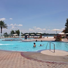 Photo taken at Contemporary Resort Pool by Brent on 7/18/2014