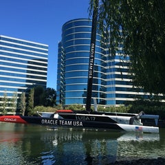 Photo taken at USA-71 BMW-Oracle Racing Boat by Sharon C. on 6/27/2014