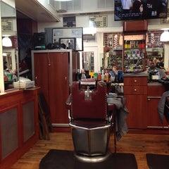 Photo taken at Clinton Street Barbershop by Paul 🐙 C. on 7/7/2014