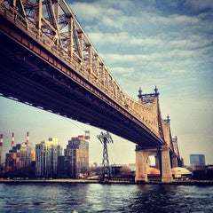 Photo taken at Ed Koch Queensboro Bridge by Lasse K. on 12/2/2012