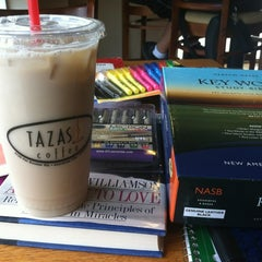 Photo taken at Tazas Coffee by Kara E. on 9/30/2012