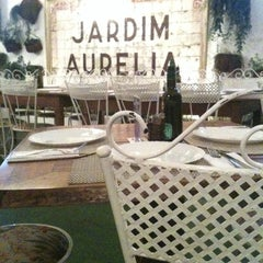 Photo taken at Jardim Aurélia Restaurante e Eventos by Renata L. on 7/23/2013