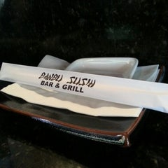 Photo taken at Banbu Sushi Bar & Grill by Franky on 1/26/2013
