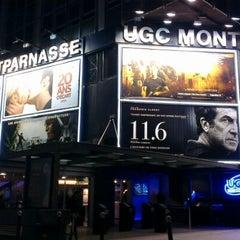 Photo taken at UGC Montparnasse by Driss A. on 4/8/2013