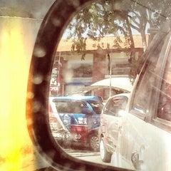 Photo taken at Bali Wisata Automatic Car Wash by samira t. on 1/19/2014