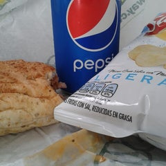 Photo taken at Subway by Christian R. on 3/11/2014