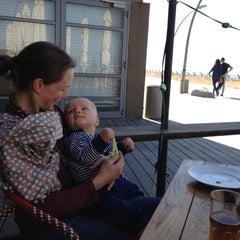 Photo taken at Bait Banamal - Restaurant (בית בנמל - המסעדה) by Laura A. on 1/21/2013
