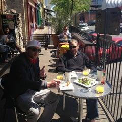 Photo taken at Halcyon Coffee, Bar & Lounge by Chris V. on 3/24/2013