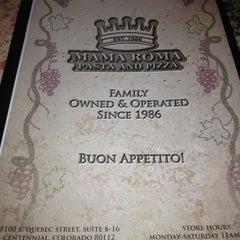 Photo taken at Mama Roma's by Kimbirly O. on 4/27/2013