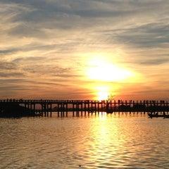 Photo taken at U Bein Bridge by Will on 12/2/2012