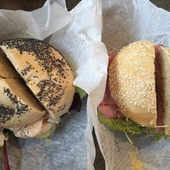Photo taken at Pearl Street Bagels by Rose C. on 5/26/2015