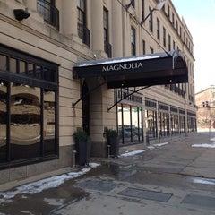 Photo taken at Magnolia Hotel by Rhonda B. on 3/14/2013