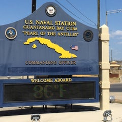 Photo taken at Guantanamo Bay Naval Base by Oliver P. on 3/18/2015