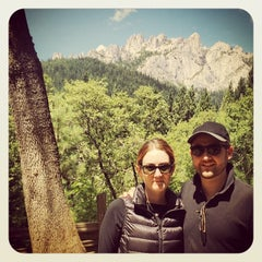 Photo taken at Castle Crags State Park by Ben N. on 7/25/2014