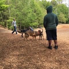 Photo taken at Oakhurst Dog Park by Ed A. on 4/10/2016