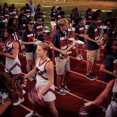 Photo taken at Hinsdale Central High School by Amanda D. on 9/7/2013