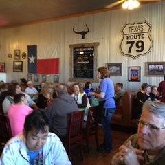 Photo taken at Texan Cafe & Pie Shop by Teri F. on 3/2/2013