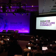 Photo taken at GigaOm Structure 2012 by Brandon A. on 10/22/2014