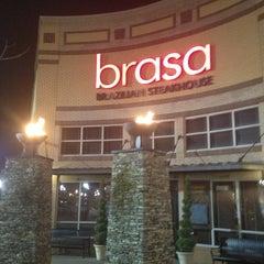 Photo taken at Brasa Brazilian Steakhouse by SooFab on 1/22/2013