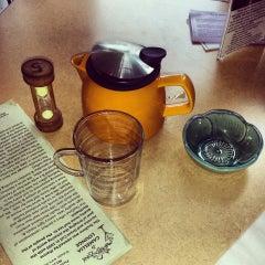 Photo taken at Tea Zone & Camellia Lounge by Eka B. on 4/27/2014