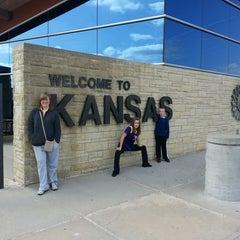 Photo taken at Kansas Travel Information Center by Jim F. on 4/4/2013