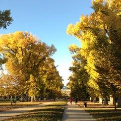 Photo taken at Liberty Park by Corey O. on 10/29/2012