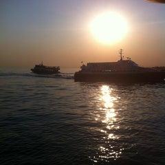 Photo taken at İDO Bostancı Deniz Otobüsü İskelesi by Kayhan K. on 7/25/2013