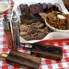 Photo taken at Ruby's BBQ by ROYbot on 10/3/2014
