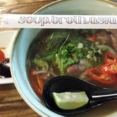 Photo taken at Soup Broth Asia by Shirley W. on 2/5/2014