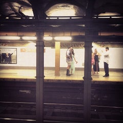 Photo taken at MTA Subway - 34th St/Penn Station (A/C/E) by Eduard M. on 7/27/2013