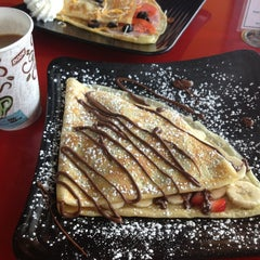 Photo taken at Our Crepes & More by Natalia S. on 8/31/2013