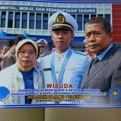 Photo taken at Politeknik Ilmu Pelayaran (PIP) Semarang by Satria W. on 9/20/2013