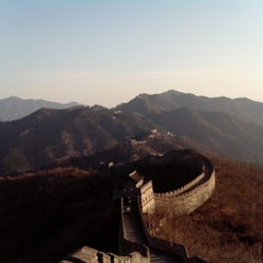 Photo taken at 慕田峪长城 Great Wall at Mutianyu by Electronica M. on 11/20/2012