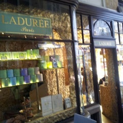 Photo taken at Ladurée by fadzly j. on 10/16/2012
