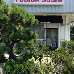 Photo taken at Fusion Sushi by Sheila V. on 7/4/2013