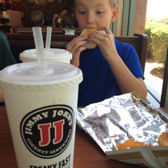Photo taken at Jimmy John's by Craig M. on 4/26/2014