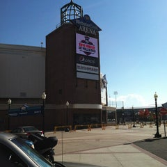 Photo taken at Webster Bank Arena by Troy C. on 10/20/2012