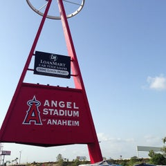 Photo taken at Angel Stadium of Anaheim by AJ S. on 5/18/2013