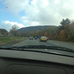 Photo taken at I-84 -- Willington by Valerie B. on 10/20/2012