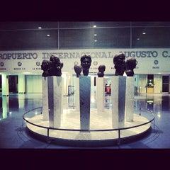 Photo taken at Aeropuerto Internacional Augusto C. Sandino by Luis S. on 10/21/2012