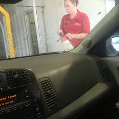 Photo taken at Scrub-A-Dub Car Wash and Oil Change by Victoria W. on 7/22/2015