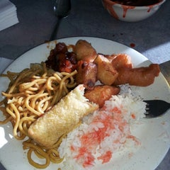 Photo taken at New China Buffet by Sarah C. on 9/24/2012