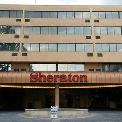 Photo taken at Sheraton Pasadena Hotel by Mike D. on 2/5/2014
