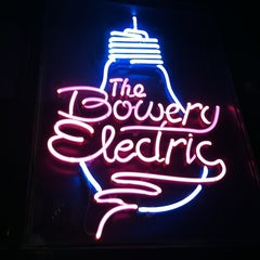 Photo taken at The Bowery Electric by Nick R. on 10/19/2012