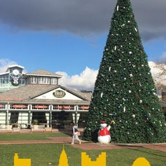 Photo taken at Town Square Fountain by Monther A. on 11/22/2015